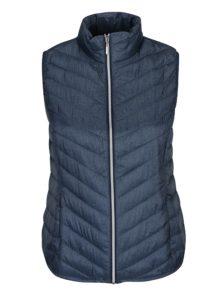 Modrá prešívaná vesta Gina Laura