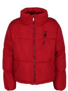 Červená zimná bunda TALLY WEiJL