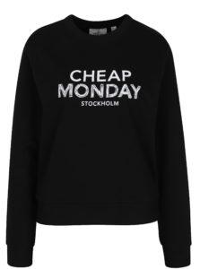 Čierna dámska mikina s potlačou Cheap Monday