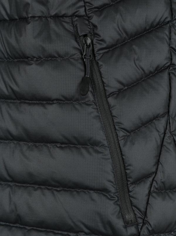 Čierna pánska prešívaná vesta Nike Sportswear Fill