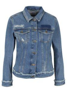 Modrá dámska rifľová bunda Cross Jeans