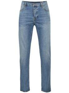 Tmavomodré pánske regular tapered fit rifle Cross Jeans