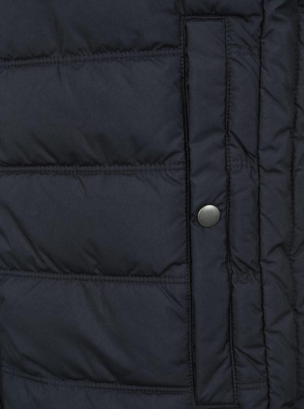 Tmavomodrá prešívaná vesta Jack & Jones Body