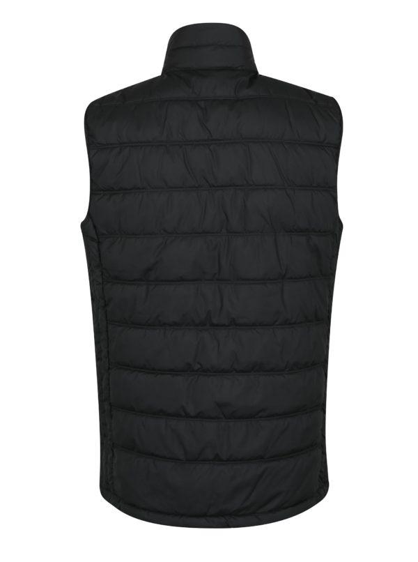 Čierna prešívaná vesta Jack & Jones Body