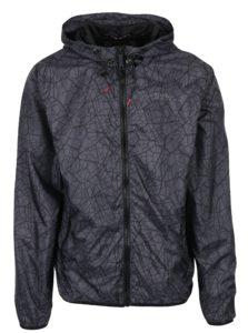 Sivá vzorovaná šušťáková bunda Blend