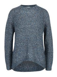 Modrý melírovaný sveter Jacqueline de Yong Kendra