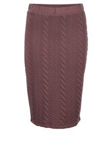 f24cb458e468 Staroružová puzdrová sukňa Jacqueline de Yong Zadie