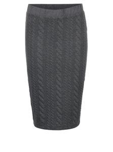 20253b4e10a2 Tmavosivá puzdrová sukňa Jacqueline de Yong Zadie