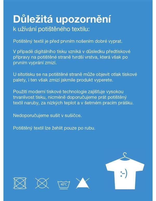 Biele pánske tričko s potlačou ZOOT Original 1989