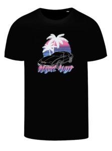 Čierne pánske tričko s potlačou ZOOT Original Majkl Najt