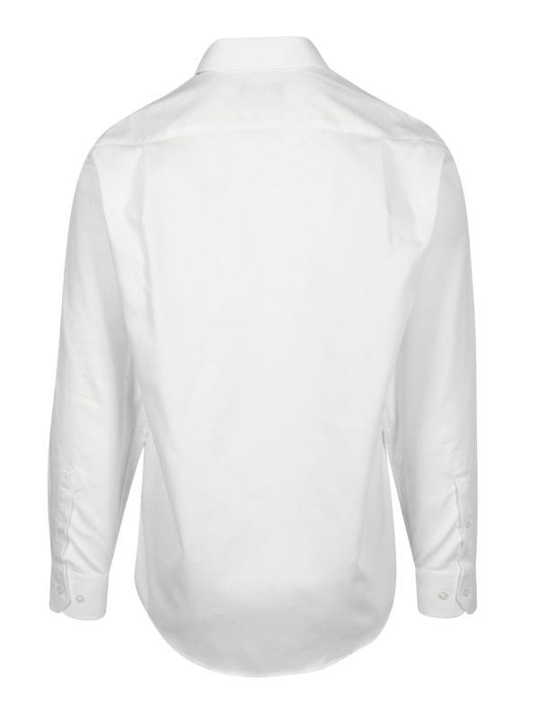 Biela formálna regular fit košeľa Braiconf Cristian