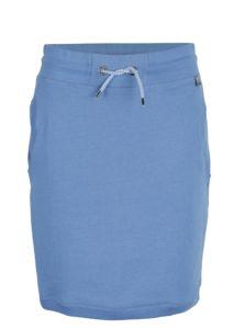 Modrá tepláková sukňa s vreckami Tranquillo Amaia