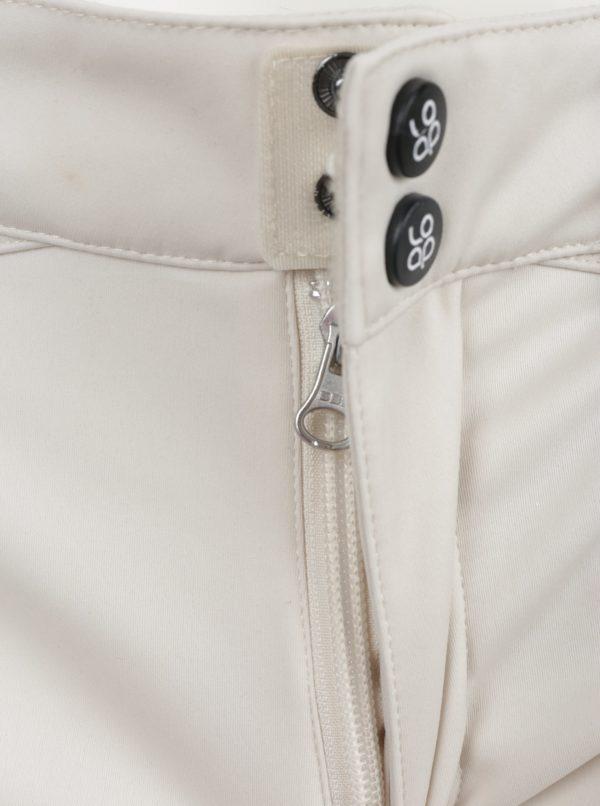 Krémové dámske softshellové vodovzdorné nohavice LOAP Lamila