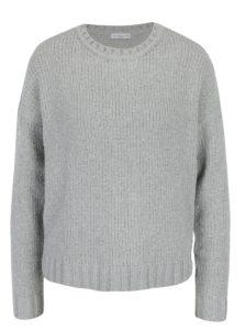Svetlosivý trblietavý sveter Jacqueline de Yong Shine
