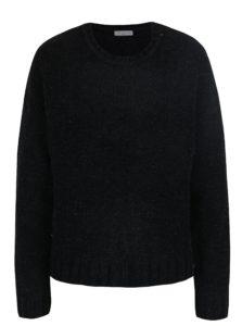 Čierny trblietavý sveter Jacqueline de Yong Shine
