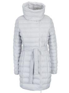 Biely vodu odpudzujúci prešívaný dámsky kabát LOAP Ikona