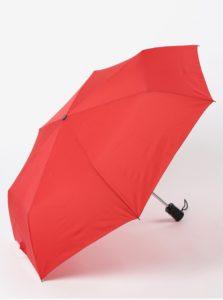 Červený skladací vystreľovací dáždnik RAINY SEASONS Moon