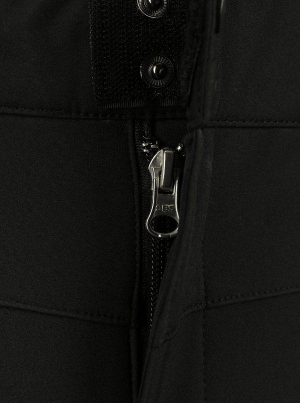 Čierne pánske softshellové nohavice LOAP Laslo