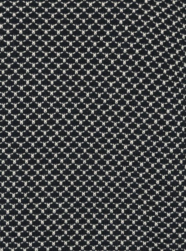 Krémovo–modrý vzorovaný sveter SUIT Ingolf
