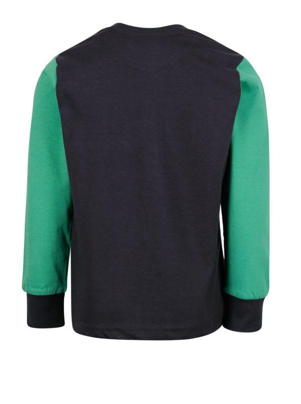 Zelené chlapčenské tričko s potlačou North Pole Kids