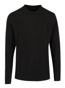 Čierna pánska mikina s náprsným vreckom Casual Friday by Blend