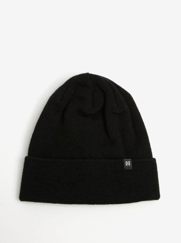Čierna dámska zimná čapica Horsefeathers Greis