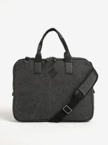 Tmavosivá taška na notebook s odnímateľným popruhom Blend