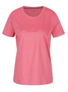 Ružové dámske tričko Tommy Hilfiger