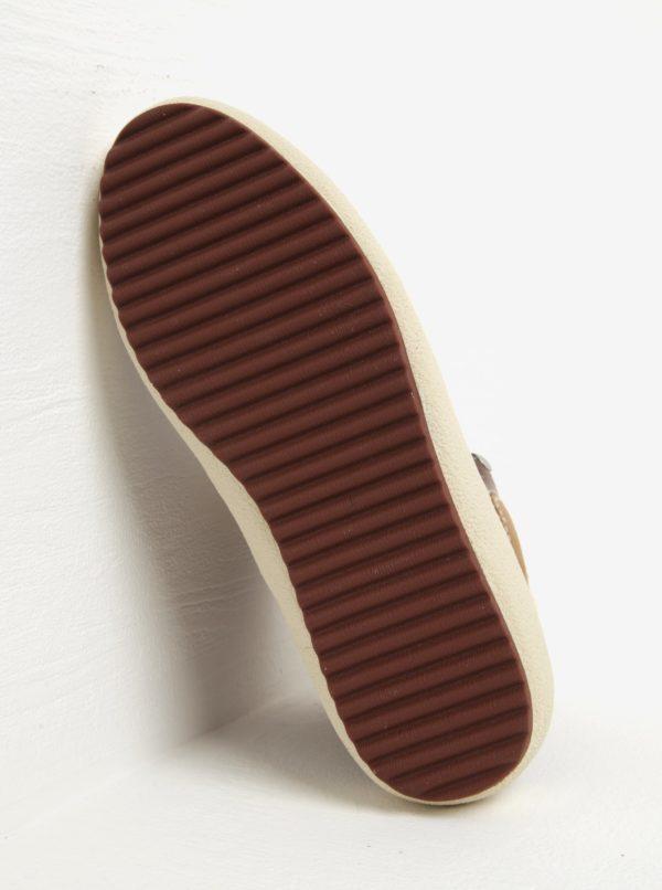 8c9db6a6cad4 Hnedé dámske kožené zateplené členkové topánky GANT Amy