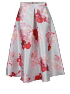 Krémová kvetovaná sukňa Dorothy Perkins