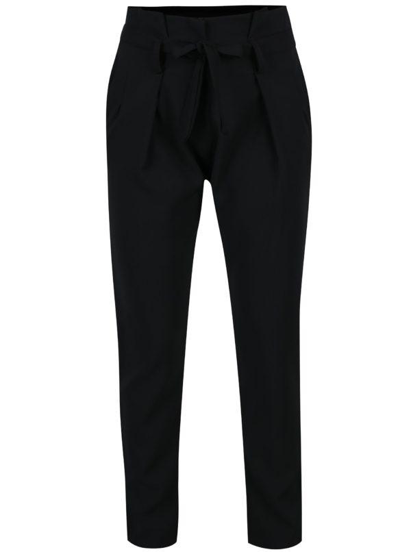 Čierne skrátené nohavice Haily's Milly