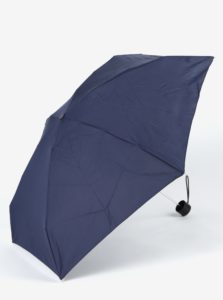 Tmavomodrý skladací dáždnik Esprit