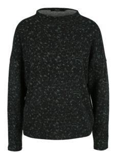 Tmavozelený vzorovaný sveter VERO MODA Savannah