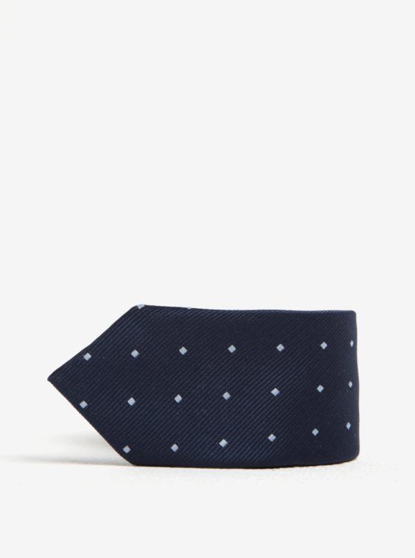 Modrá chlapčenská vzorovaná kravata Name it Pisp
