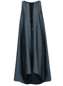 Tyrkysová dámska dlhá vesta Bianca Popp