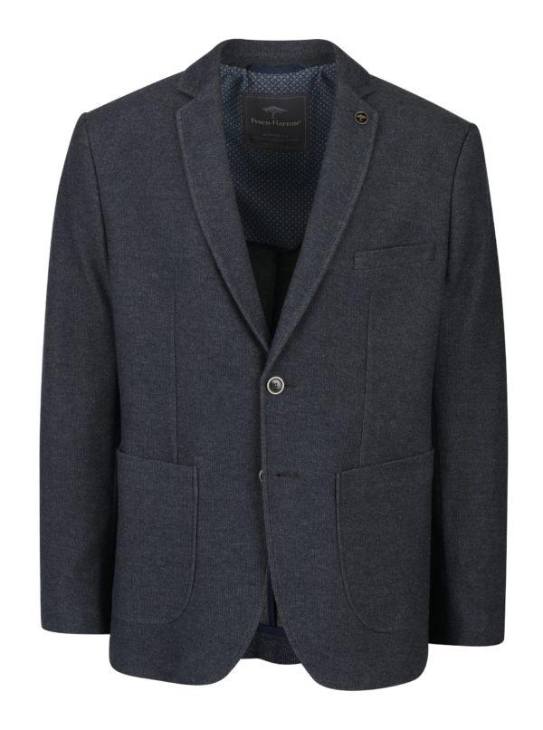 Sivé sako s vreckami Fynch-Hatton