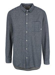 Modrá pánska flanelová modern fit košeľa Quiksilver