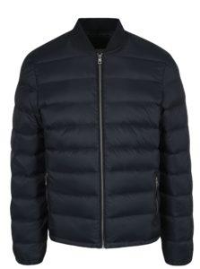 Čierny pánsky prešívaný bomber Calvin Klein Jeans Opron