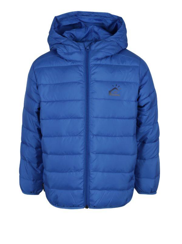 Modrá chlapčenská prešívaná bunda Quiksilver