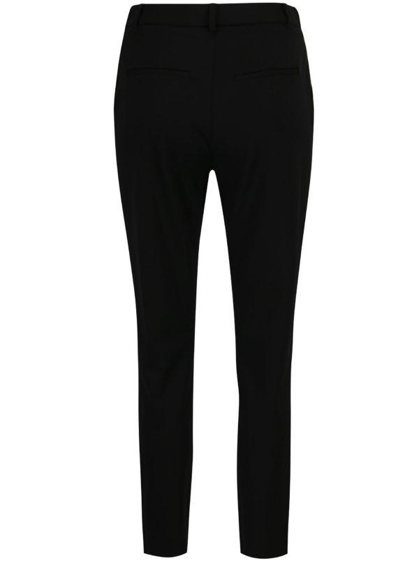 Čierne nohavice s detailmi v zlatej farbe VILA Class