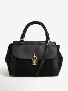 Čierna kabelka s detailmi v zlatej farbe Dorothy Perkins