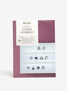 "Znaky pre svetelný box ""Svadba"" BUTLERS"