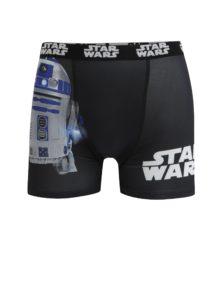 Čierne pánske boxerky s potlačou Star Wars