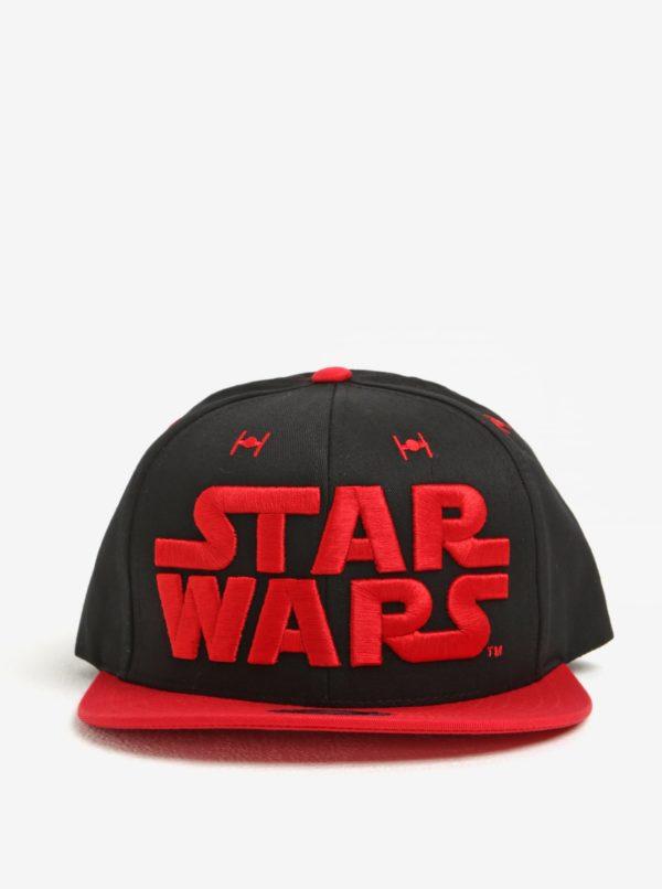Čierno-červená pánska šiltovka Star Wars