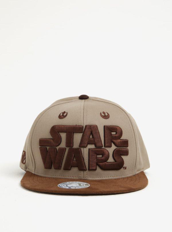 Hnedá pánska šiltovka Star Wars
