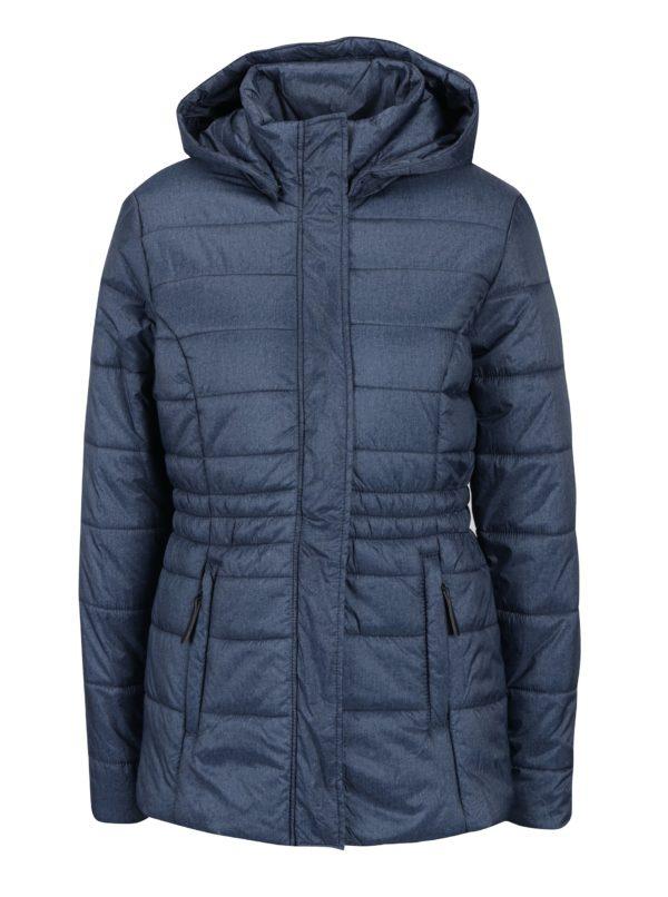 Modrá dámska zimná vodoodpudivá prešívaná bunda LOAP Tabita