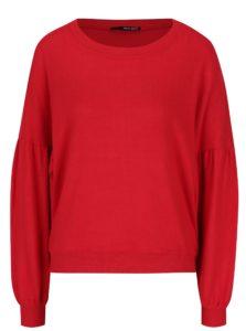 Červený voľný sveter s netopierími rukávmi TALLY WEiJL