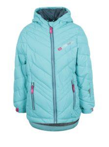 Modrá dievčenská zimná funkčná vodovzdorná bunda LOAP Ogava