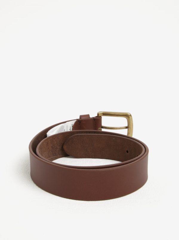 Hnedý pánsky kožený opasok Pepe Jeans New Balkio