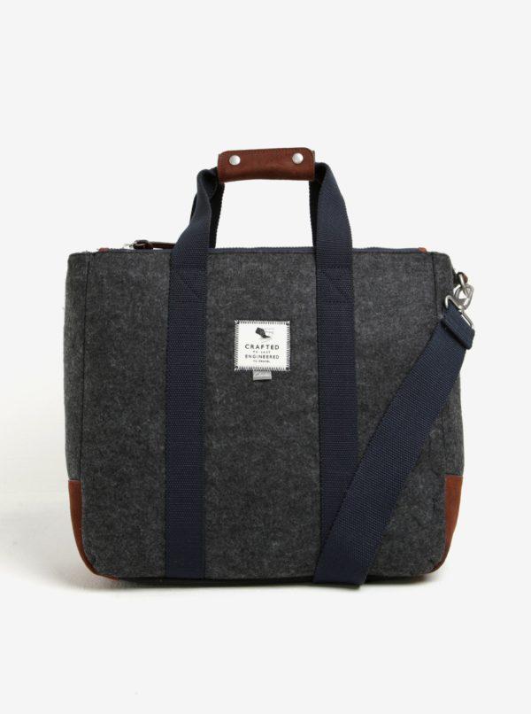 Sivá pánska taška Clarks The Gray